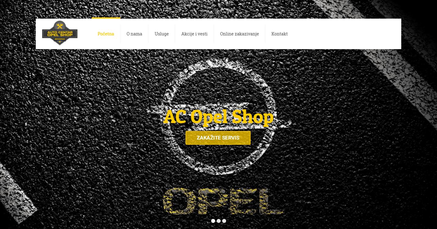 AC Opel Shop